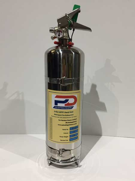 PD 2.4 Litre AFFF Hand Held Fire Extinguisher