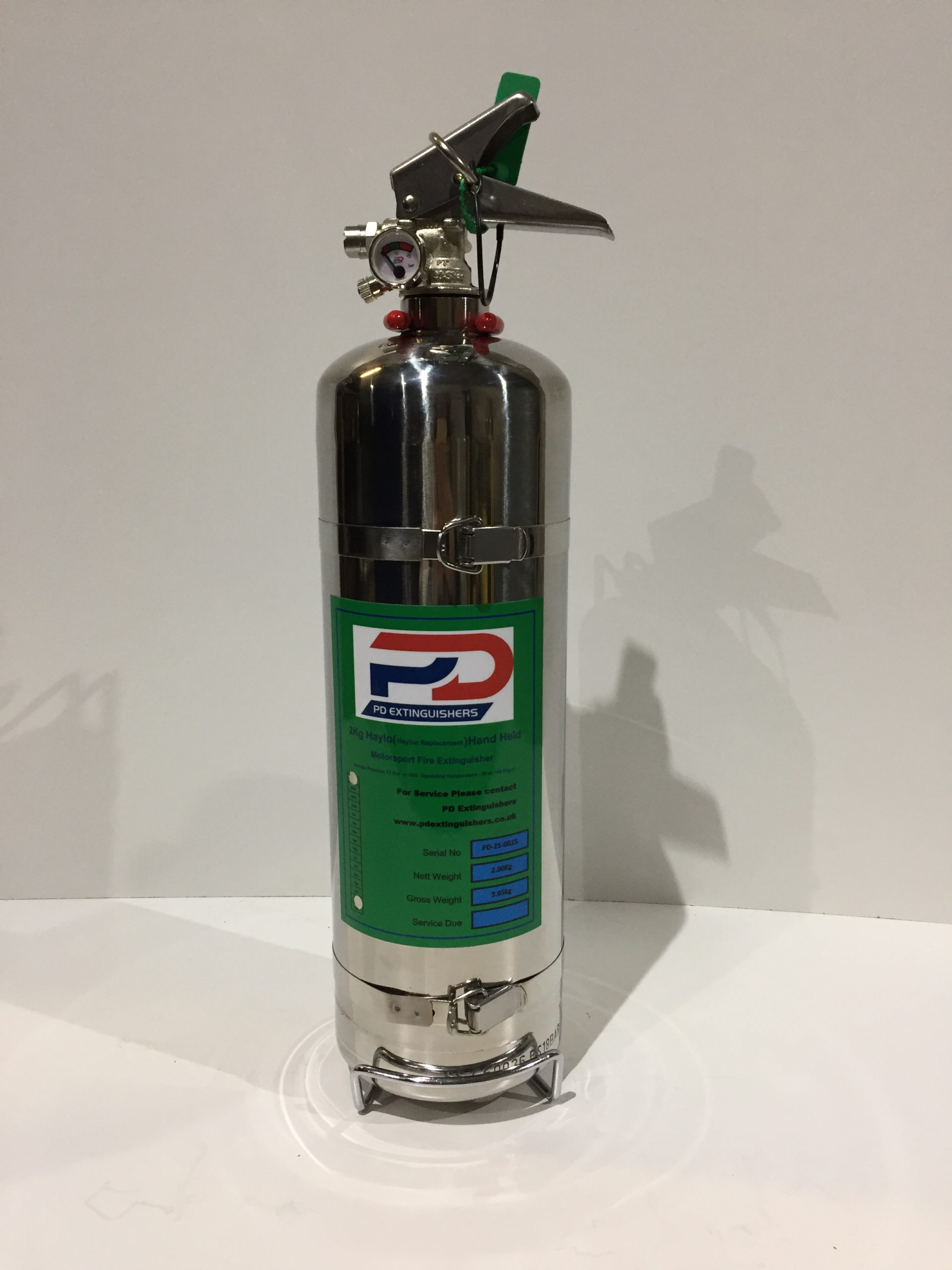 PD 2Kg Haylo Hand Held Fire Extinguisher
