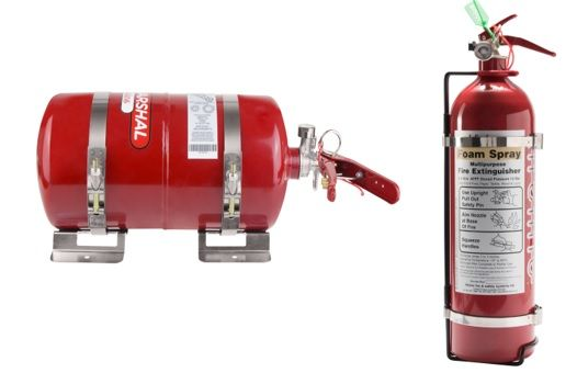 Rally Pack  4.0ltr Fire Marshal & 2.4ltr  Hand Held