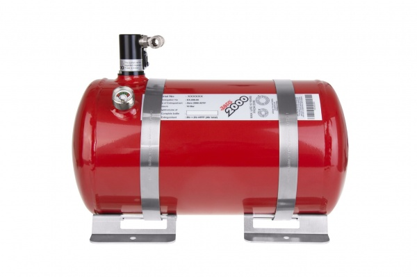 Zero 2000 4.0ltr Electric (Aluminium bottle)  Fire System  8 Nozzles (4x Engine Bay, 4x Cockpit), FI